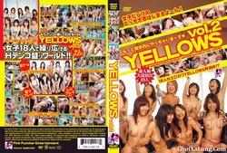Yellows #2 – Natural 18 Amateur Girls