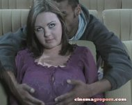 Babe theater groping porn autonomy sex