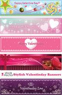 Vectores Día de San Valentín con estilo Banners 7ql1y8icwy8v_t